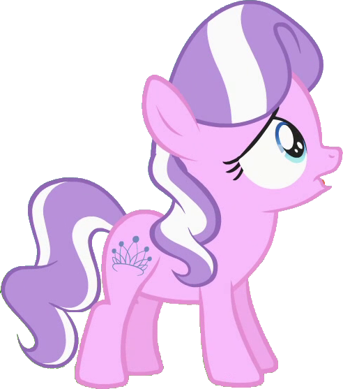 Mlp diamond tiara vector