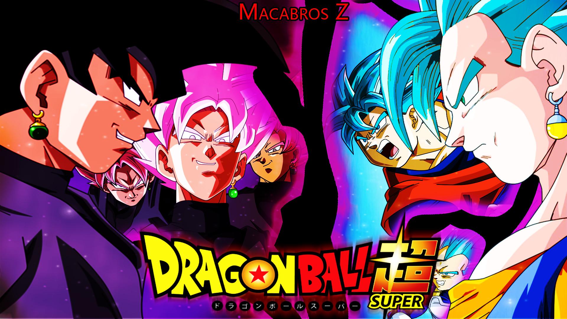 Son Goku De Dragon Ball Z Fondo De Pantalla Super Saiyan: Black Goku Vs Vegetto Ssj Blue Fondo De Pantalla By NeosZ