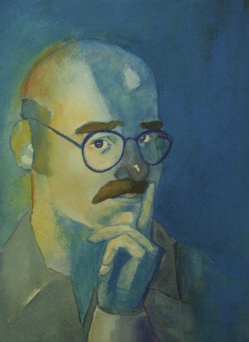 The Blue Man by Nimbus2005