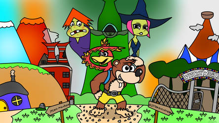 (Banjo-Tooie) New Adventure for Banjo and Kazooie! by davtoa