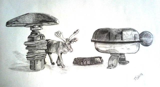 Als die Tiere den Wald verliessen 1