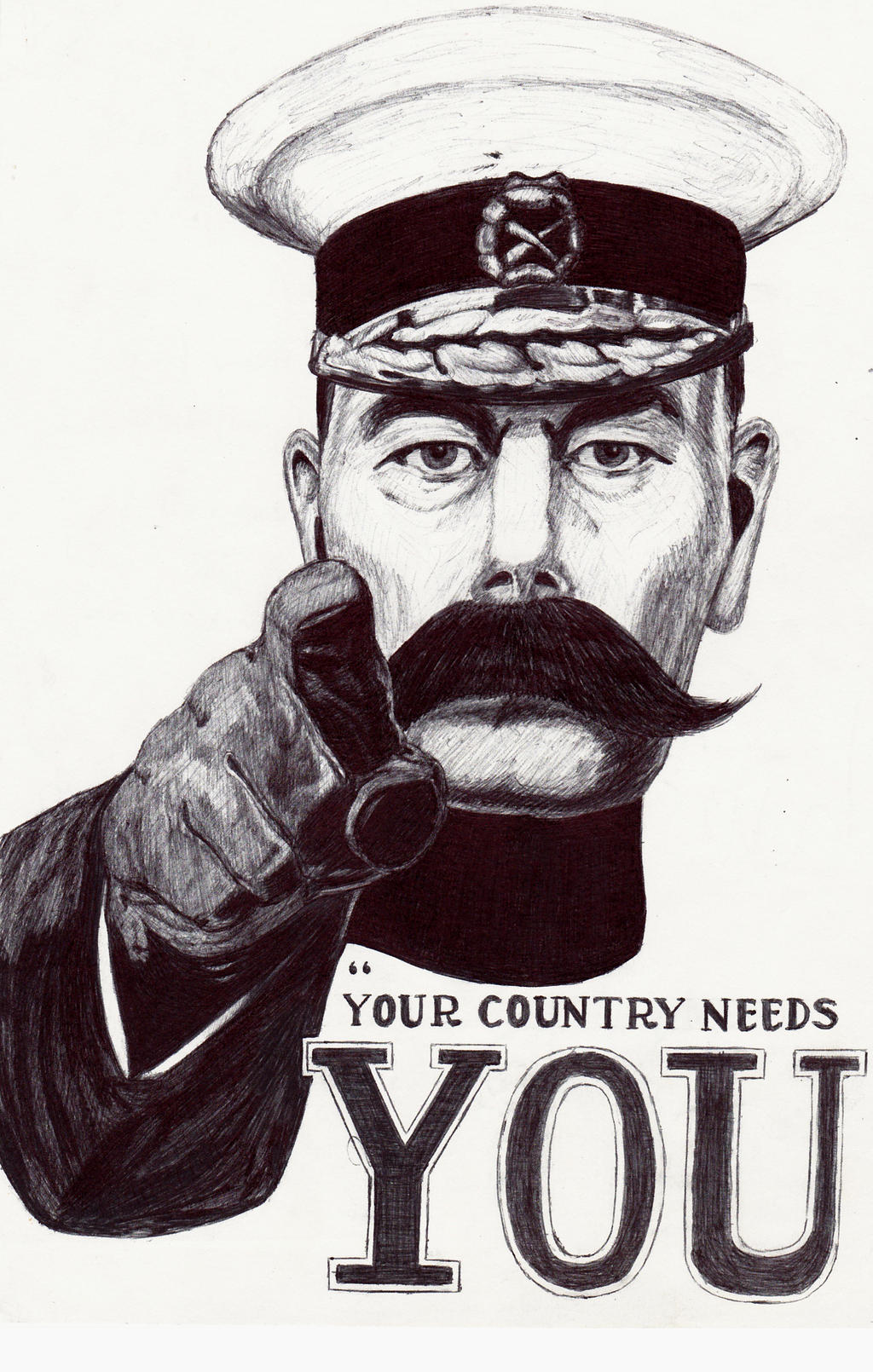 primer lord kitchener your country needs you wall