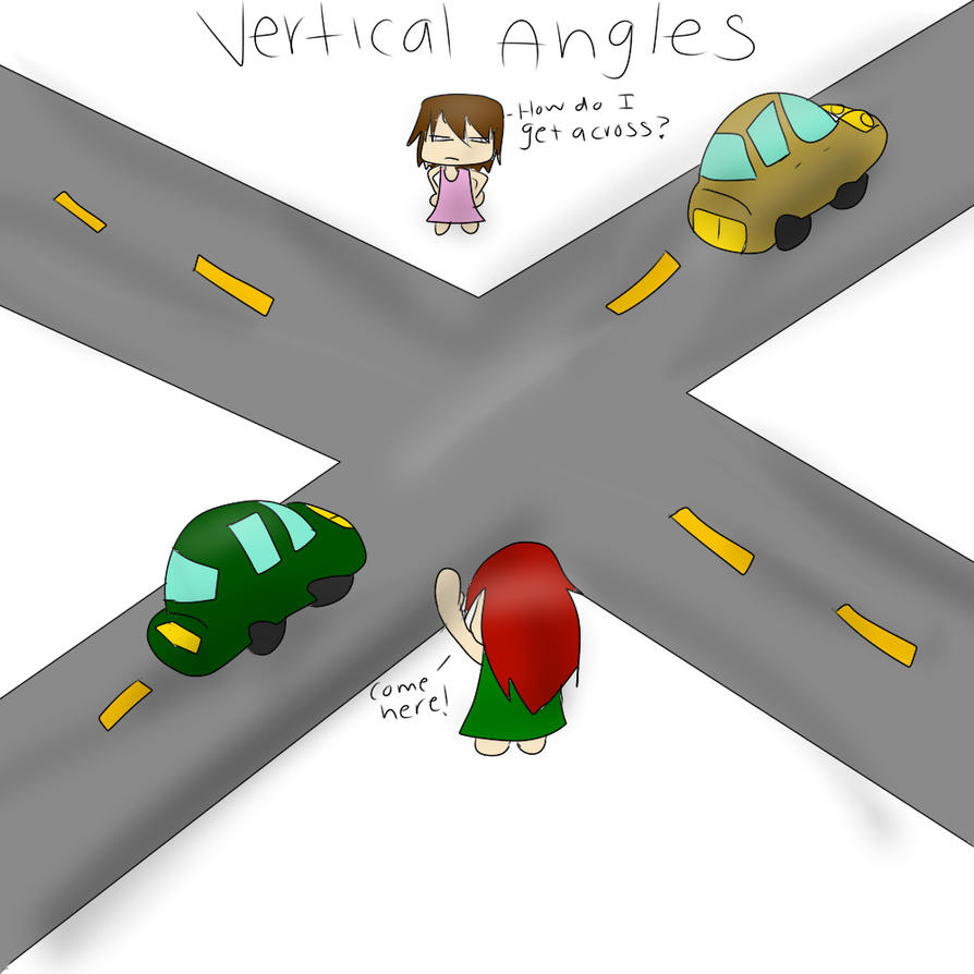 Vertical Angles In Real Life : Vertical angles example picture by farrynmable on deviantart