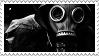 Gas mask stamp