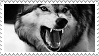 Wolf stamp by wuddle