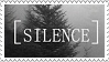 Silence stamp by wuddle