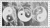 Yin and yang stamp by wuddle