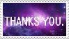 F2U -Donation Box stamps- THANKS YOU Stamp by wuddle