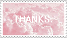 F2U -Donation Box stamps- THANKS Stamp 2 by wuddle