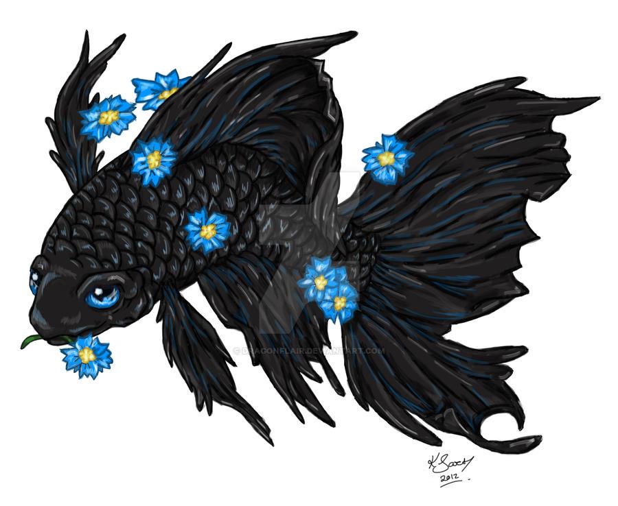 Betta Fish Tattoo Design By Dragonflair On Deviantart