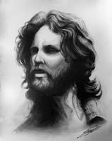 Jim Morrison by JozeRiva