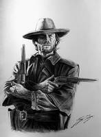 Clint Eastwood as Josey Wales.