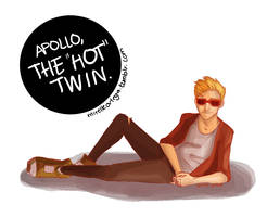 The Hot Twin by illustrationrookie