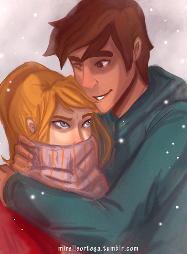 Artemis hates the cold  by illustrationrookie on DeviantArt