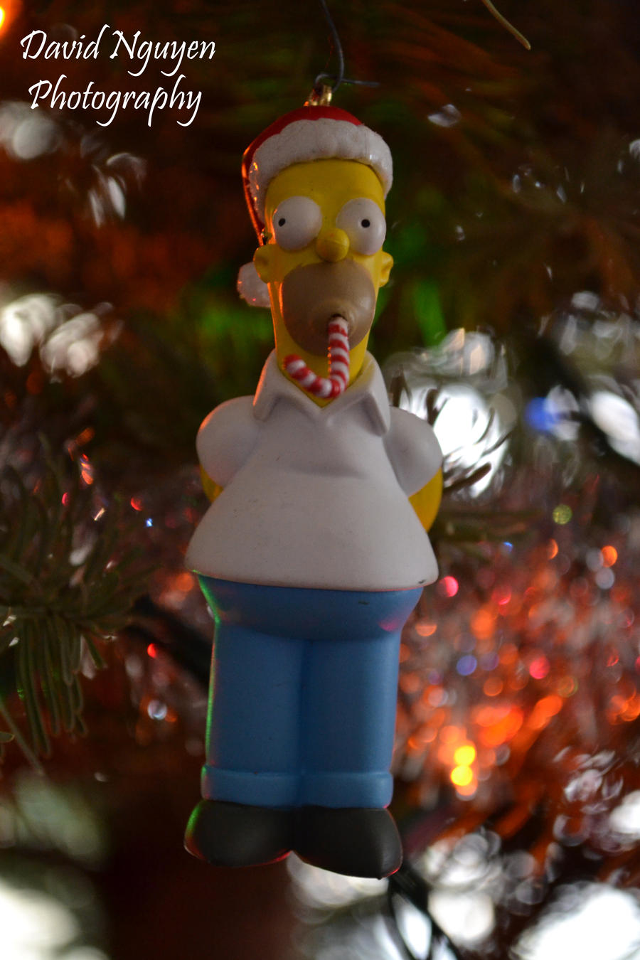 Homer Simpson Ornament by davidnguyen408