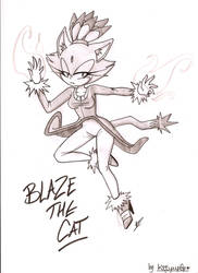 Blaze The Cat by kiiyup0p