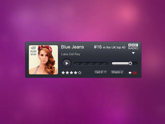 BBC Radio widget by Miniartx