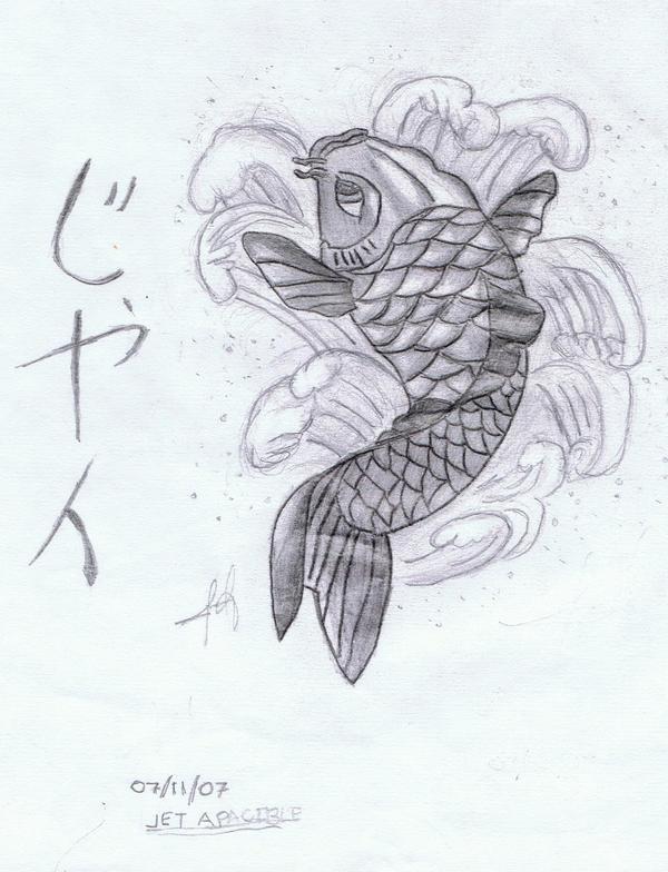 Koi Fish Tattoo Design by Enzoguri on deviantART