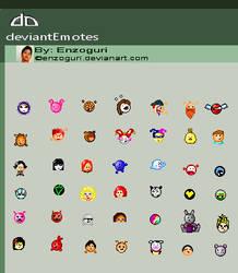 Deviant Emoticons by Enzoguri