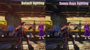 Sunny Days (lighting mod)