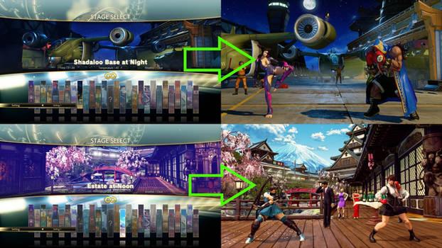 Alt DLC Stages - With NPC