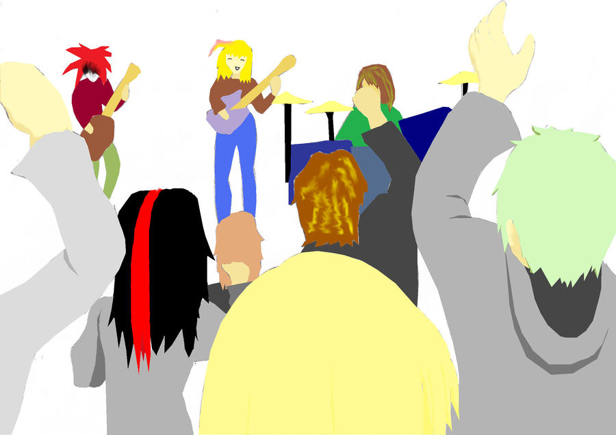Soleanax rock concert by Virexius