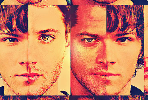 Wait, who -Castiel and Sam and Dean-