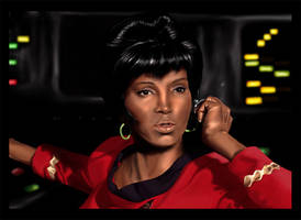 Nichelle Nichols by jeminabox