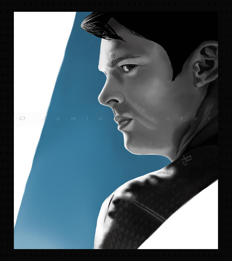 Star Trek: Karl Urban by jeminabox