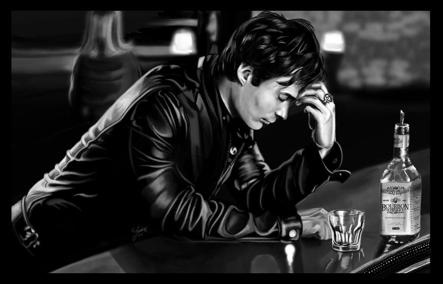 Damon Salvatore by jeminabox