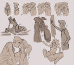 MaKorra Sketch Mess