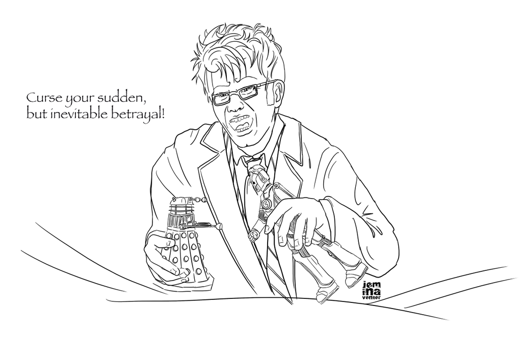Line Drawing Of A Doctor : Doctor who firefly lineart by jeminabox on deviantart