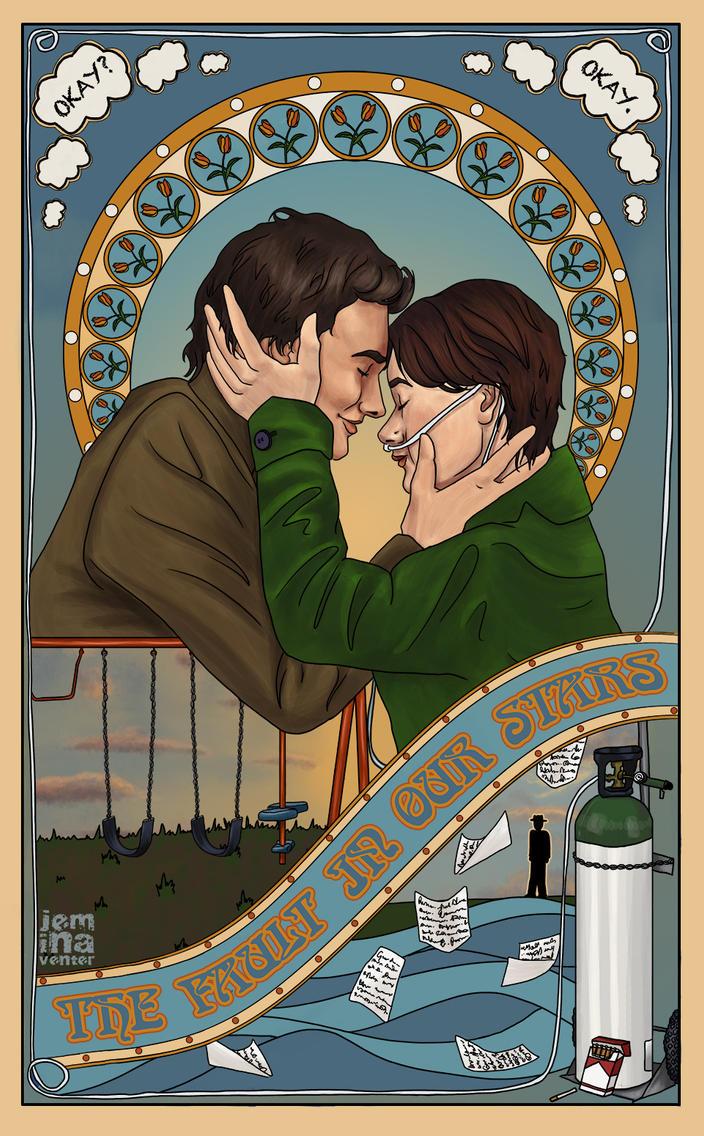 tfios poster by jeminabox on deviantart
