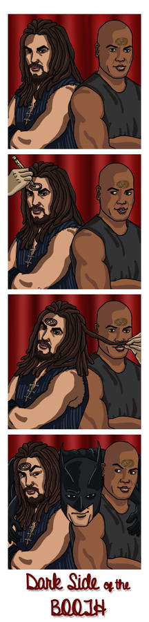 Photo Booth: Ronon and Teal'c