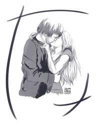 Heartland: Amy x Ty Sketch