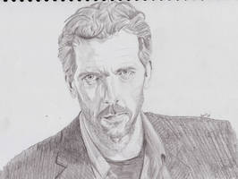 Hugh Laurie by jeminabox