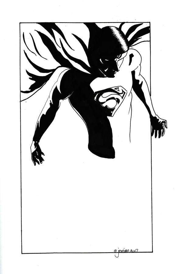 Superman Silhouette by...