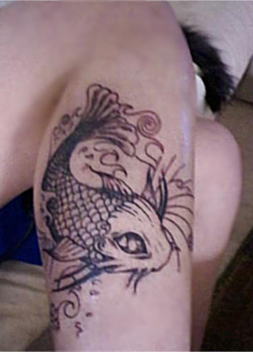 Koi Tattoo by angelbaby11 on deviantART