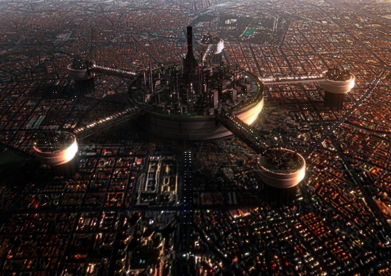 Sci Fi City by aalenfae