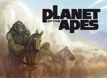 Planet of the Apes Challenge 3: Poster.