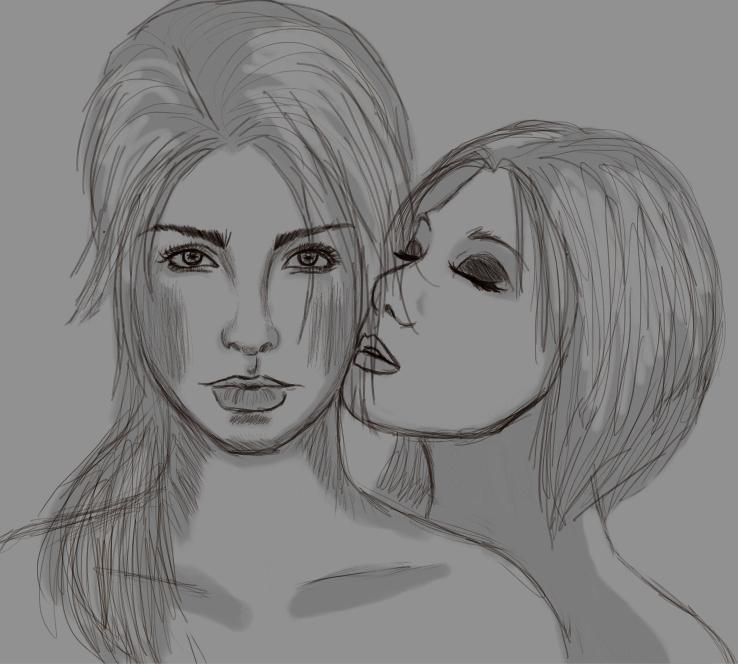 Lara/Sammy by EquineBiohazard