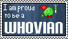 I am proud to be a Whovian stamp by WebBread31