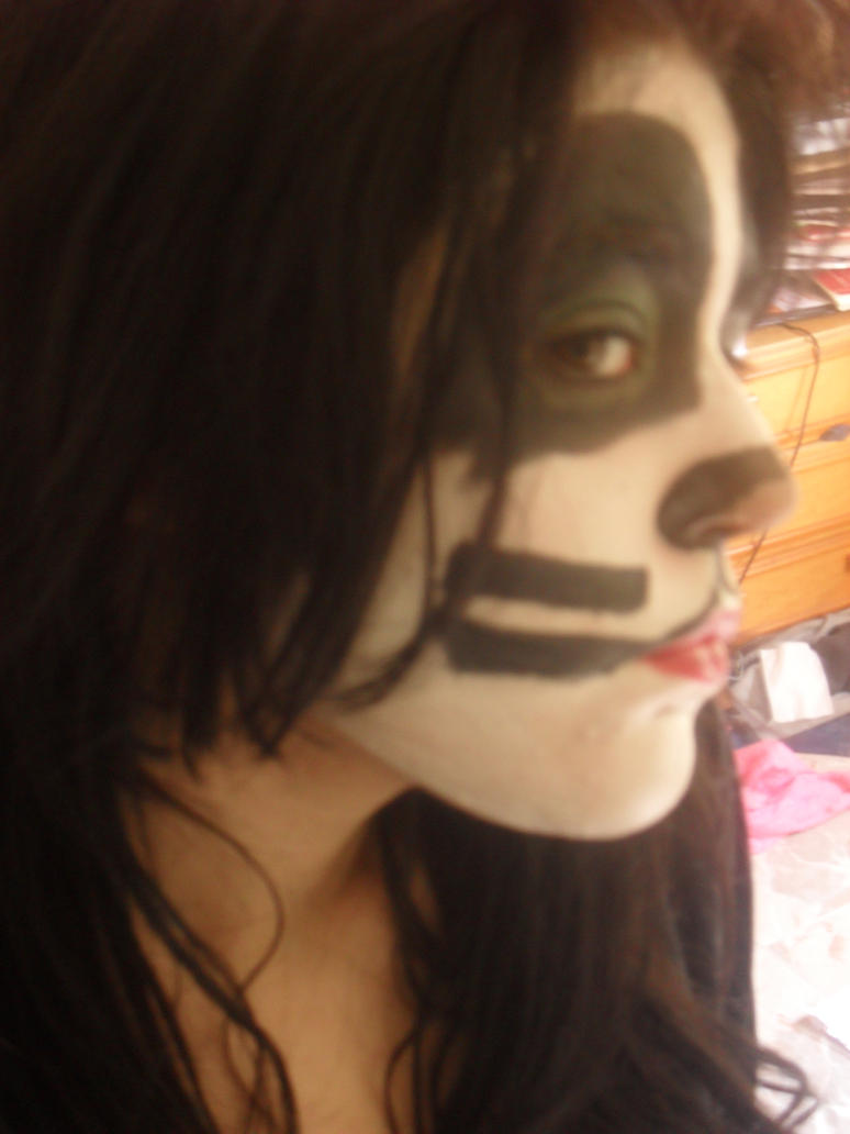 Peter Criss Catman make up by glammetalfan