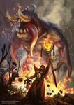 Warlock Fanart (Dota 2)