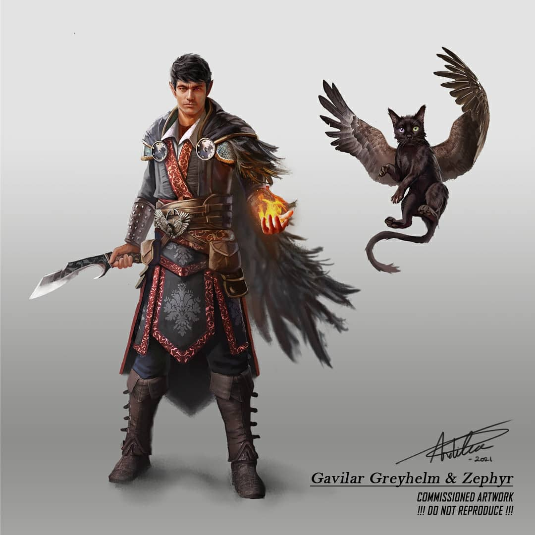 Gavilar Greyhelm - Personal Commission