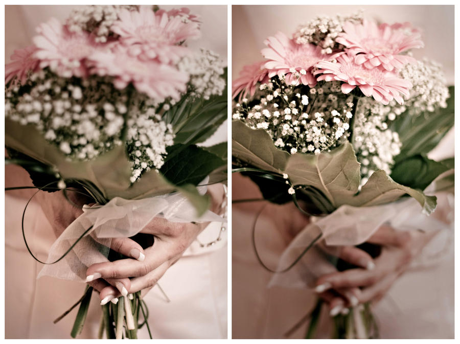bridesmaids bouquet by Lady-Twiglet