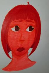 Why Did I Draw a Random Girl In Sharpie Highligher