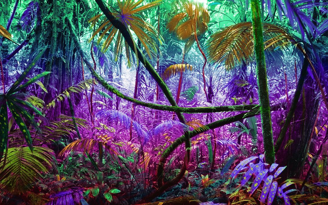 Alien jungle colormood by Frenzygator on DeviantArt