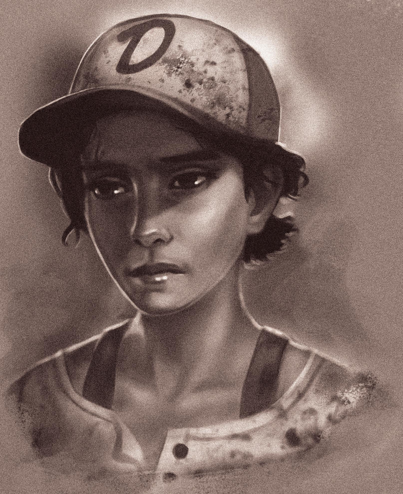Clementine (The Walking Dead The Game) By Vicdakras On