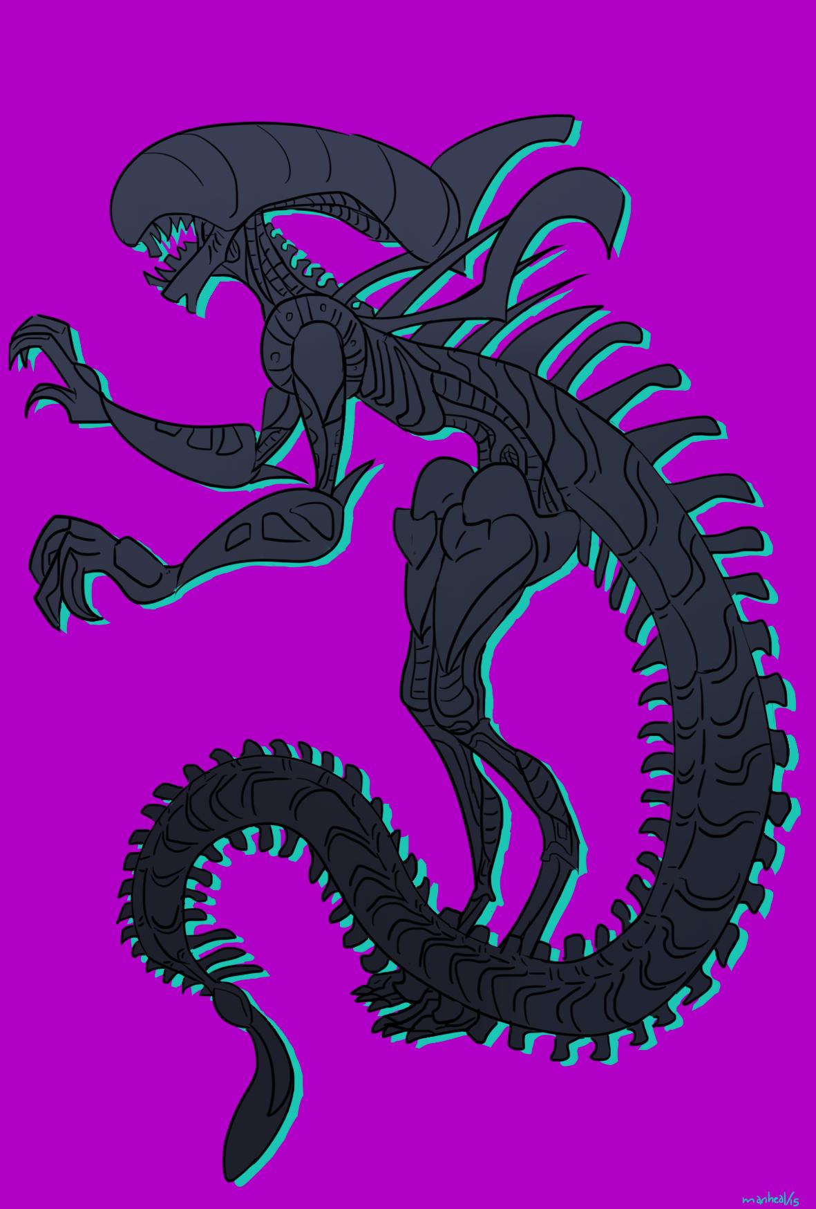 Alien. by mariheal